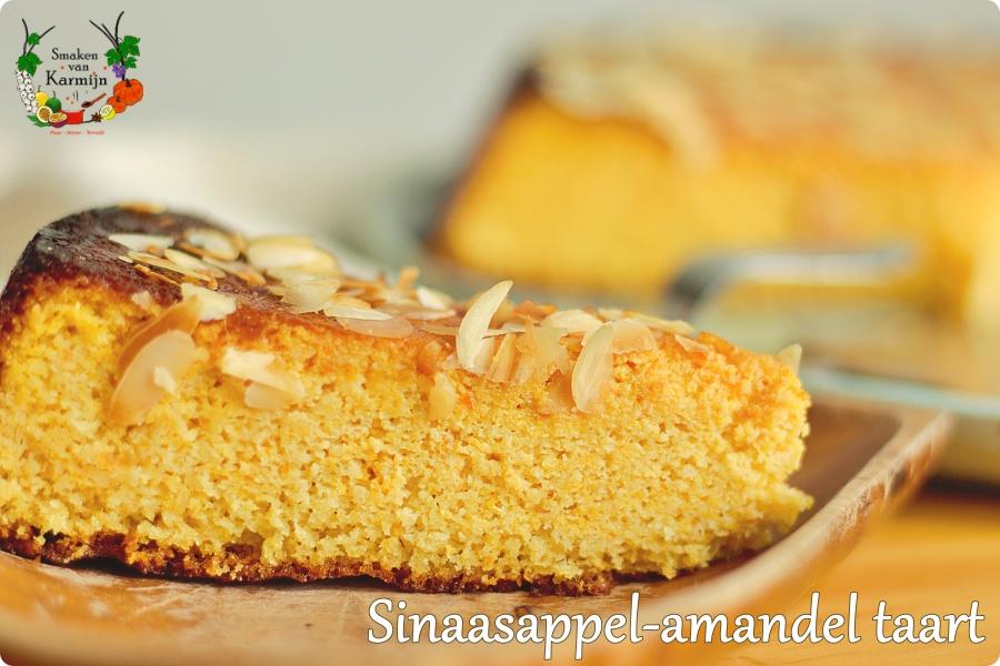 Sinaasappel-amandel taart